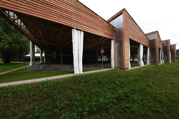 K4 Achitects and Engineers / Traffic education campus and playground / Brno / 2015 / VI