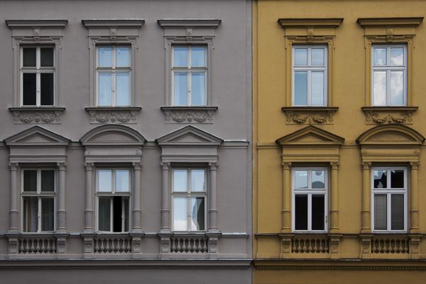 PRIVILEG - reconstruction of monuments and historical buildings / Facade / Stará street no. 23, Brno / 2018 / II